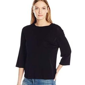 ❤️ NWT Vince 3/4 Sleeve Cotton SWEATER TOP M